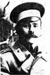 В. И. Маянский. 1912 год. Тогда еще штабс-капитан