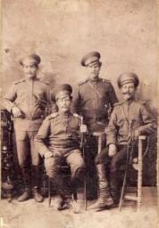 Семиреченские казаки, братья А. и С. Егорины