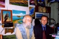 П.И. Мариковский и К.Д. Бируля, Алма-Ата, 2003