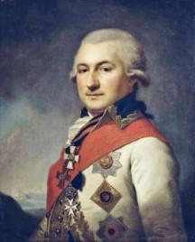Адмирал Иосиф де Рибас.Художник И.-Б. Лампи-старший. 1796
