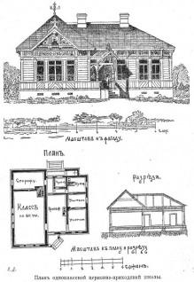 План cтаничной  школы