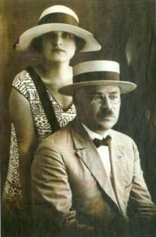 Марианна Колосова и Александр Покровский