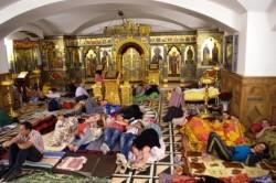 Богоявленский кафедральный собор Горловки стал бомбоубежищем