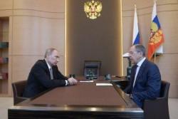 В. Путин. С. Лавров.