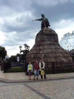 Олесь Бузина, Максим Ивлев. Киев, 2010