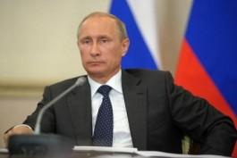 Президент РФ В.В. Путин.