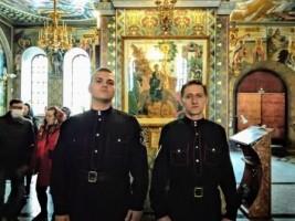 Казаки Союза Православных Граждан РК