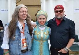 Юрий Агещев и Борис Гребенщиков