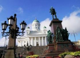 Хельсинки. Памятник Александру II.