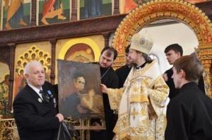 Награждение медалью В.А. Бакуревича