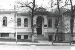 Здание пансиона Верненской мужской гимназии