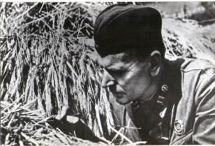 К.Паустовский на Южном фронте. 1941г.
