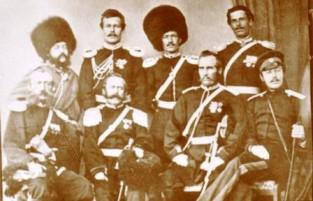 Семиреченские казачьи офицеры
