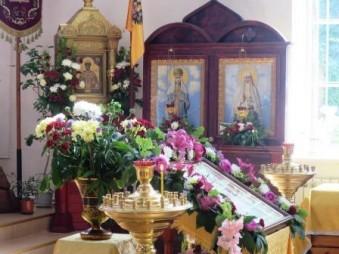 Царский придел в храме