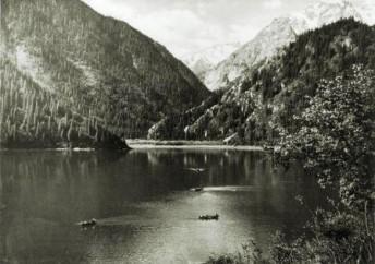 Озеро Иссык. Фото 1950-х гг.