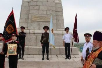 Знаменосцы казачьих общин Семиречья