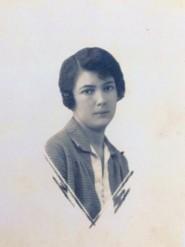 М.В. Волкова. 1928 г.