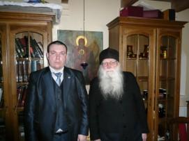Архимандрит Анастасий и Смыков И.Е.