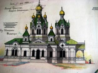 Проект церкви
