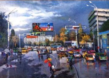 А.Уткин. «Летний дождь»